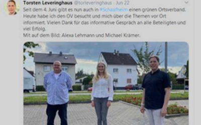 MdL zu Besuch in Schaafheim