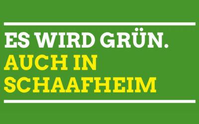 Schaafheimer Grüne fordern einen fairen Wahlkampf und mehr Transparenz in der Gemeindepolitik