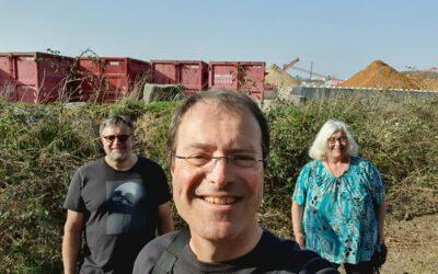 Landratskandidat Robert Ahrnt besucht Schaafheim